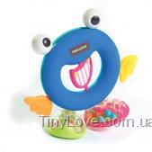 Погремушка-грызунок Ring-O с зеркальцем