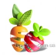 Морковка и клубничка