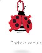 Божья коровка - пищалочка (Lady Bug Squeaker Toy)