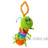 Дрожащая гусеница ДЖЕЙ, погремушка с вибрацией