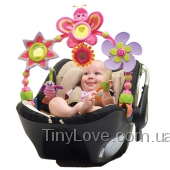 Крошка Бетти. Розовая дуга на коляску для девочки