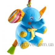 погремушка слоненок Элли с вибрацией