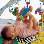 Развивающий музыкальный коврик ЗООПАРК для малышей от 0 (Африка, Любимые животные)
